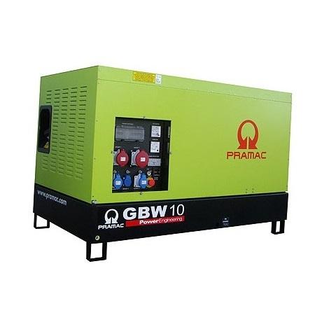 Grupo electrógeno Pramac GBW 10 Y Diesel MCP