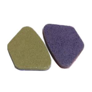 Segmento esponja diamante con velcro Viudez - Grano 600