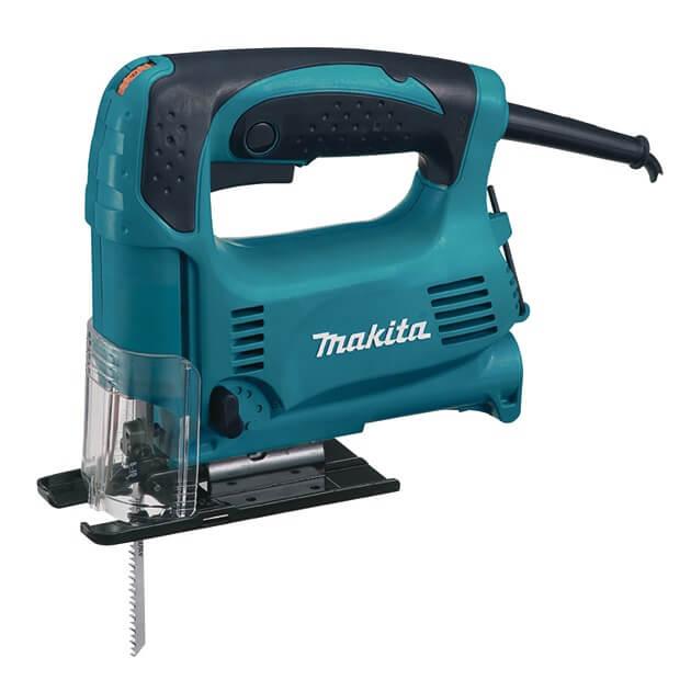 Sierra de calar Makita 4328 de 450W con velocidad variable y pendular
