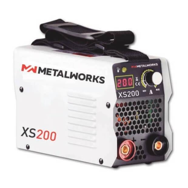Soldadora electrodos MMA Inverter MetalWorks XS200