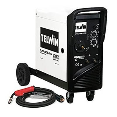 Soldadora inverter de hilo MIG-MAG TelWin Maxima 230 Synergic - Referencia 816088