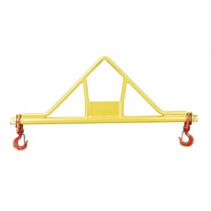 Soporte pinzas con ganchos Dacame BIL de 1500kg - 1 metro