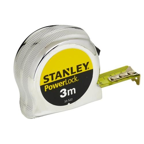 Flexómetro PowerLock 3m x 19mm Stanley