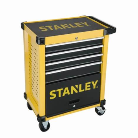 Taller móvil metálico Stanley - 4 cajones