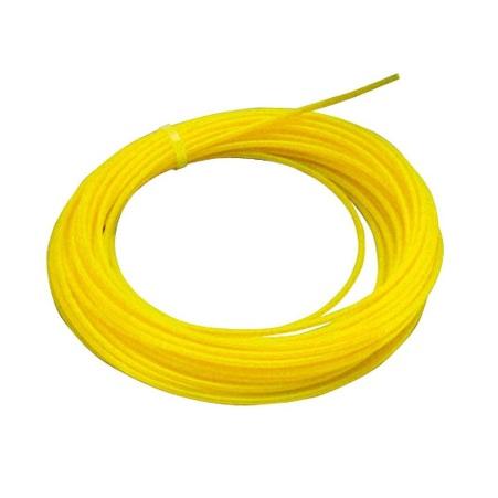 Hilo desbrozadora redondo amarillo de Ø3'3 mm x 46 metros