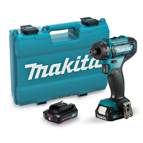 Taladro atornillador Makita DF033DSAE 12V 2.0Ah