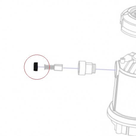 Juego tapa portaescobillas Rubi Rubimix-9N