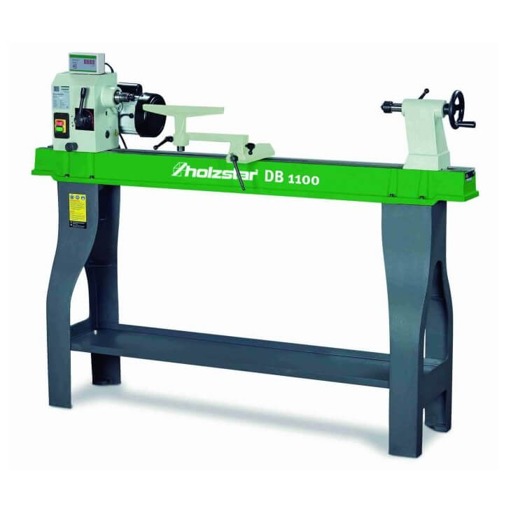 Torno para madera Holzstar DB 1100 - Monofásico - Referencia 5921100