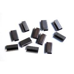 Uniones metálicas para fleje de 13mm (4000 unidades)