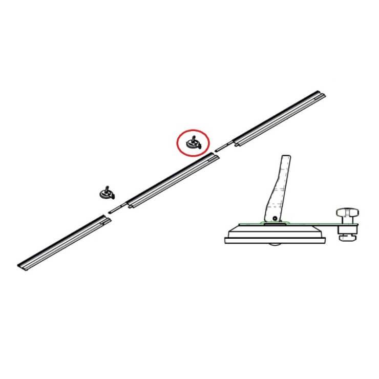 Ventosa recambio Rubi Slim cutter